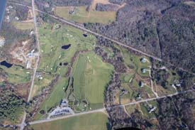 North Yarmouth Toddy Brook Golf Course aerial photo